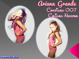 Photopack Png - Ariana Grande by Hannia-Jacky