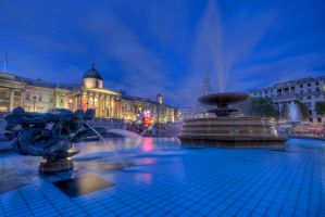 Trafalgar Square by beckersbert