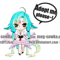 Chibi adoptable set01 [SOLD] by Meg-Sowka