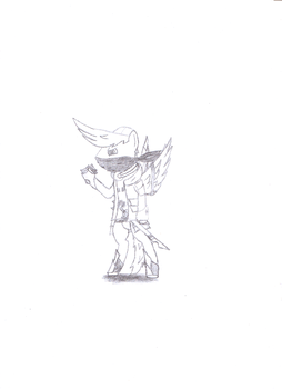 Extremegamer72 (ponified(Samurai Style)) RAW by Leekface72