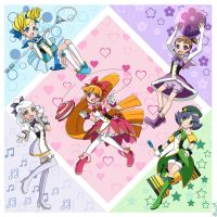 Magical Puff Girls Z by AlineSM