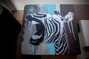 New zebra stencil by Spectator6969