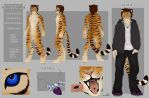 Valentine reference sheet. by Shalinka