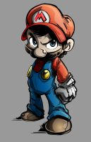 SMB-SSB: The Smash Brother- Colors by SkipperWing