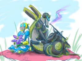 TFA: 3 Inches with Company by aerinsol