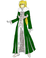 CH: Outfit Design for Winter Ball by Undeciria