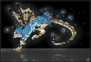 Auction:: Moth Dragon -CLOSED- by The-F0X