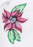 Flash Drawings: Crying Flower by CapnSavy