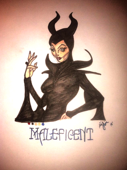 Maleficent by DreamInColorz