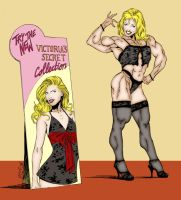 Hardbodies Victoria Secret col by CheeseDogX