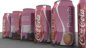 Coca-Cola Peach-Flavored by staphylococcal