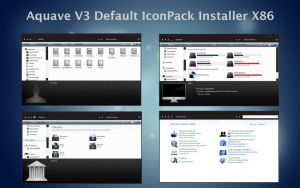 AquaveV3 iconPack Def Inst X86 by Mr-Ragnarok