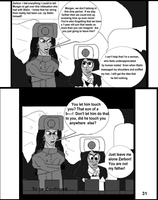 The World War 2 Saga Chap 6 Page 31 b and w by mamc1986
