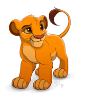 Cute Simba by EmilyJayOwens
