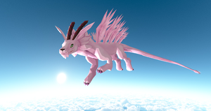 MMD Newcomer Magnadramon + DL by Valforwing