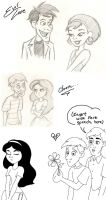 Evil Love + PhineasXIsabella by SarcasticLeaves