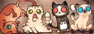 Facebook cats by ChaconTilune