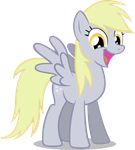 Derpy is a happy pony EQD 50m by noxwyll