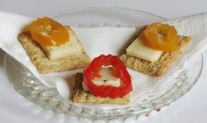 Hot Banana Pepper and Cheese Tapas by Kitteh-Pawz