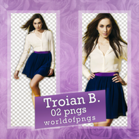 Pack png 186 - Troian Bellisario by worldofpngs