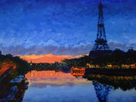 Paris in Claude Monet.. by rlyawesome