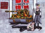 Panzer Frauliens by Captain-Torr