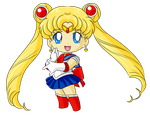 Commission: Chibi Sailor Moon for Katie0513 by StarlightFroggy