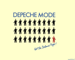 Depeche Mode:Get Balance Right by IDAlizes