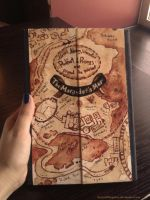 Marauder's Map datebook by BeyondThePines