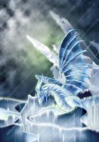 Ice Dragon by zeolyte