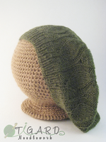 Leafy Beret by tigardneedlework