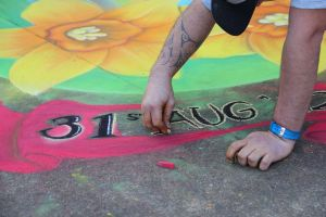 Animation College NZ - Chalk Art at the Zoo 3! by AnimationCollegeNZ
