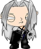 Fantasy guy project- Sephiroth by Gir4prez