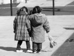 Little Girls Downtown by Piwinette