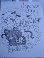 JP club shirt design by kawaii-beam