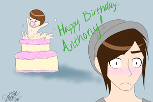 Happy Birthday, Anthony!! by ItachixKisame
