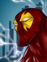 Lightning Man by Sanchez - Col by Thornster