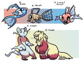 PKMNN - Mienshao/Swablu/Feebas Clutch (Closed) by Thalateya
