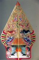 Wayang Shadow Puppet by steppelandstock