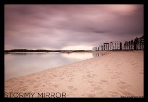 stormy mirror by bega