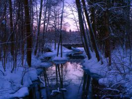 Silent river by elvytys