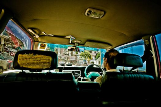 HK Taxi Experience by wantok