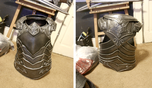 Ebony armor - chest complete by Suoitnev
