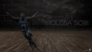 Moussa Sow Wallpaper by bluezest1997