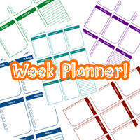 Week Planner by armblue66