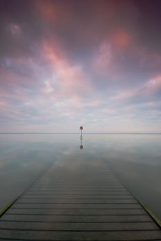 Sunken Jetty by DL-Photography