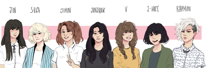 Bangtan Ladies by nightmers