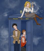 Tardis Family by Lime-Bat