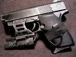 Sub Compact with red dot by JohnsonArms