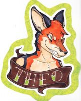 Theo Bust Badge by dragonmelde